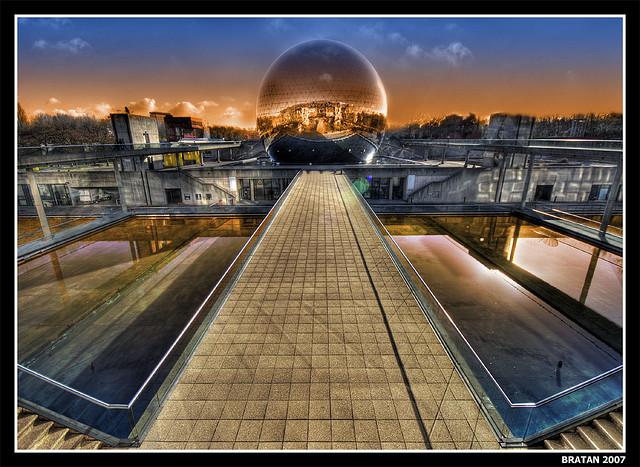 la geode in Paris