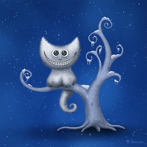 A Cheshire Kitten (Christmas)