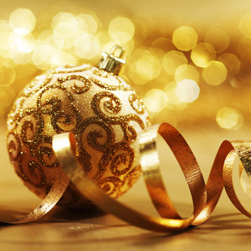 beautiful Christmas ornaments wallpaper