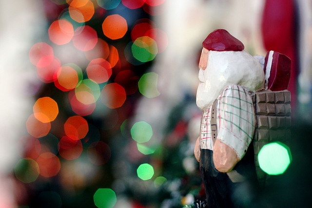 The Timberland Santa