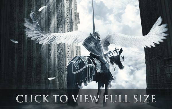 Epic Fantasy Scene with Photoshop
