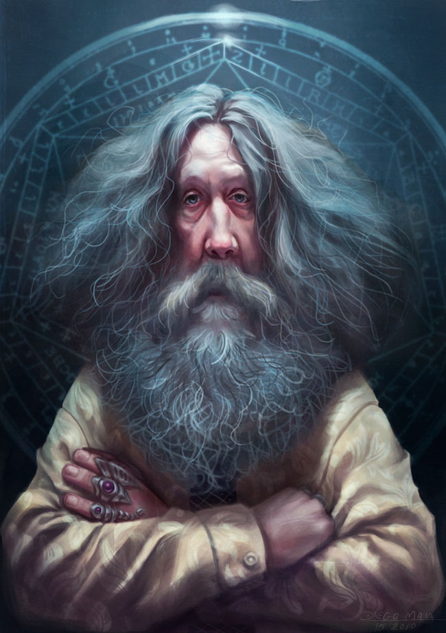 alanmoore15 25 Hilarious Digital Caricatures Of Famous People