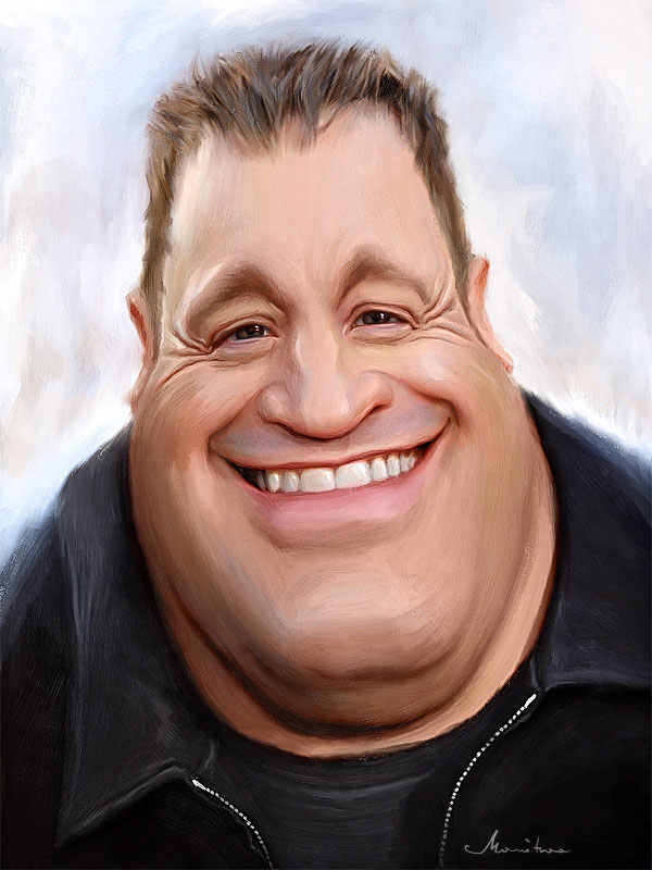 kevinjames16 25 Hilarious Digital Caricatures Of Famous People