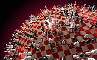 go to Chess wallpapers: color red chess board