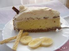 торта с бананов крем