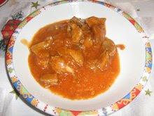 Свинско в сладко - кисел сос