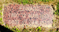 Grave of Edward Orstad, my mother's paternal grandfather