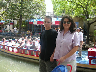 Bryan and Carrie on the River Walk