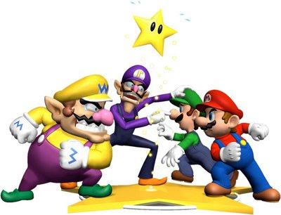 mario and luigi characters. Mario and Luigi and Wario and