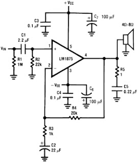 20W Audio Power Amplifier LM1875 1