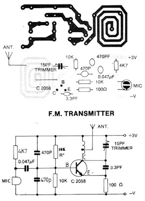 3 V FM TRANSMITTER