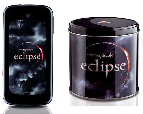 Movil de Crepusculo (Eclipse) en Vodafone