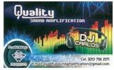 Amplificación de Sonido DJ Carlos