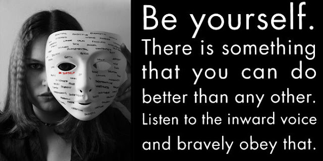 the importance of being yourself True anarchy, installment 3: the importance of being the importance of i agree with you being yourself and keeping it real will add more value to your.