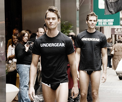 UNDERGEAR TAKES OVER TIMES SQUARE