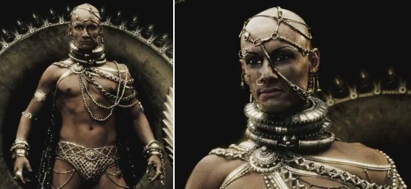 yes yes i know that the real xerxes did notReal Xerxes