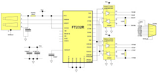 Rs Rs Rs Fiber Optic Converter Ts as well Cabo Rs Ttl also Pcb Silk Bottom also Serial besides Bus String Multi Drop Fiber Optic Modem Applications. on rs 422 to rs232 converter schematic