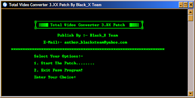 Patch Total Video Converter