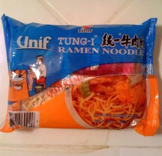 Instant Ramen Review: Unif Tung-I Ramen Noodles