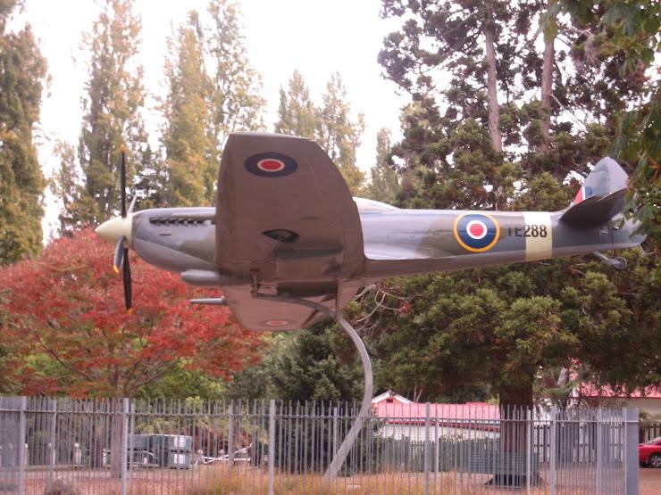 the MARK16 spitfire replica plane