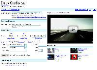Página de edição de áudio