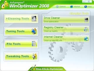 Ashampoo WinOptimizer 2008 4.5 Portable