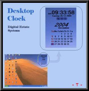 GreetSoft Desktop Clock 5.0.2.215 - Thinstalled