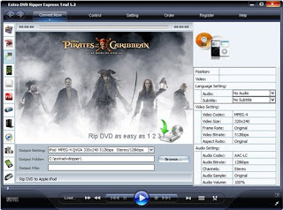 Extra DVD Ripper Express v.5.5 Portable