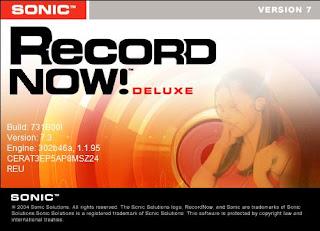 Sonic RecordNOW Deluxe.v7.3 Portable