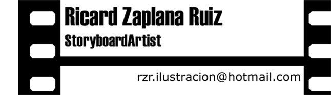 Ricard Zaplana StoryboardArtist