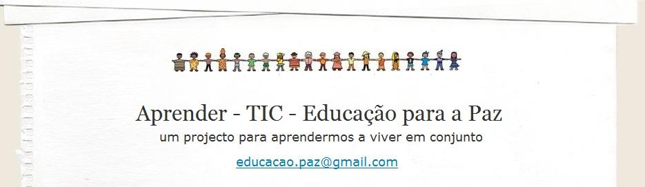 Aprender - TIC - Educação para a Paz