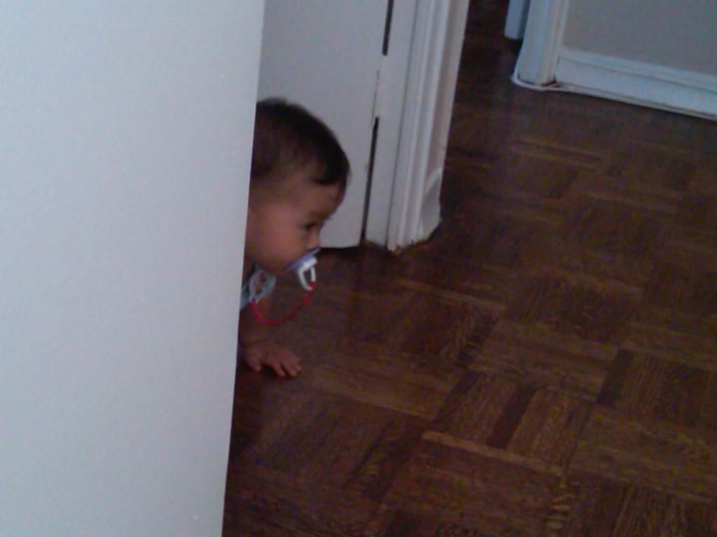 Baby Brooklyn's Ninja Training
