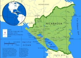 Map of Nicaragua