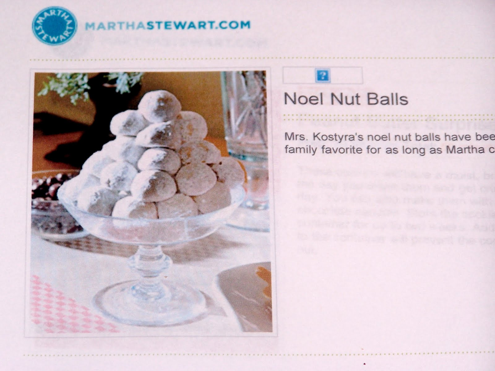 Griggs Dakota: Noel Nut Balls