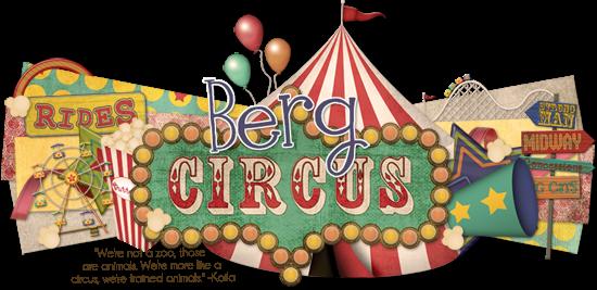 Berg Circus Blog Design