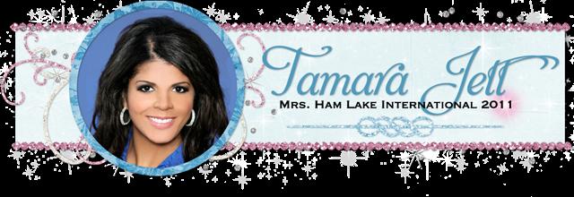 Tamara Jett Blog Design