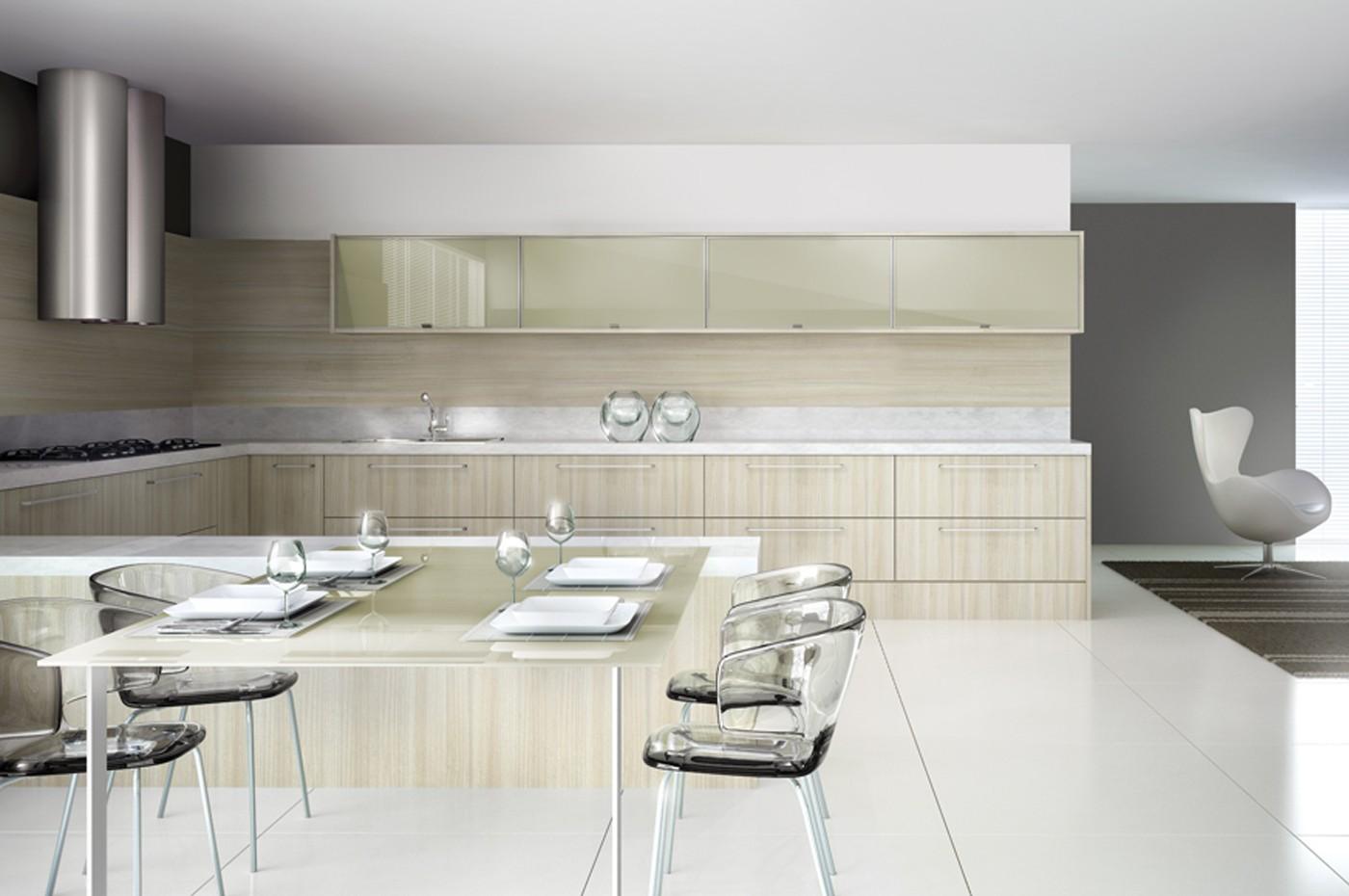 Cozinha em Laudas: Cozinhas Modernas [Modern kitchens] #746F57 1400 930