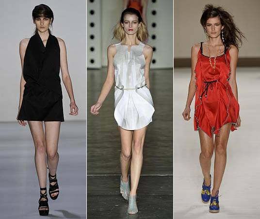 vestidos basicos verão 2011