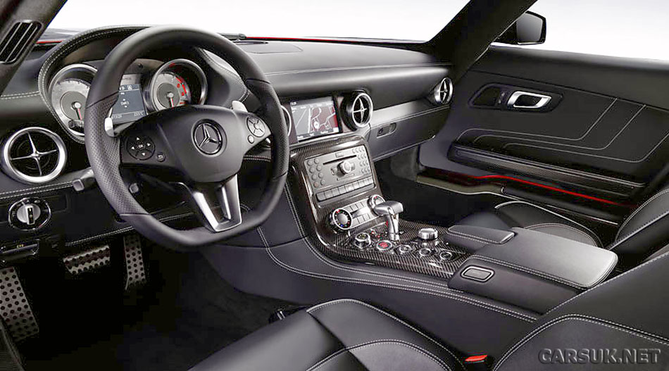 that the 2011 Mercedes SLS