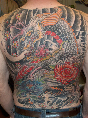 Dragon Japanese Peace Tattoo