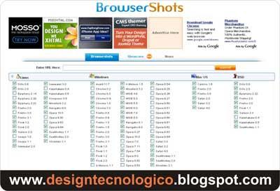 Testar blog vários browsers