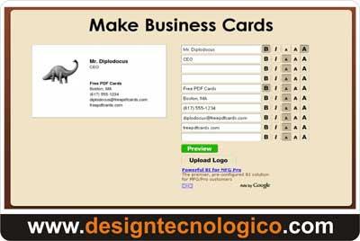 cartões visitas online