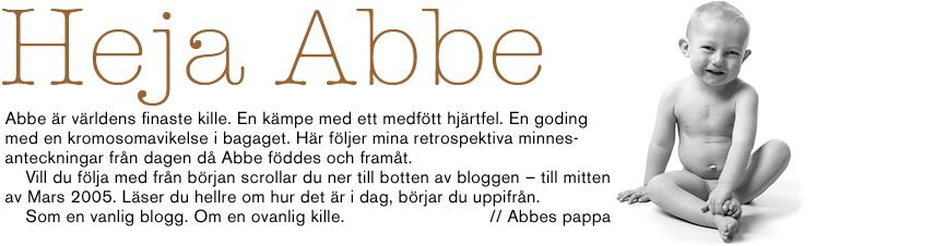 Heja Abbe.