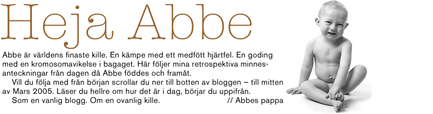 Heja Abbe.