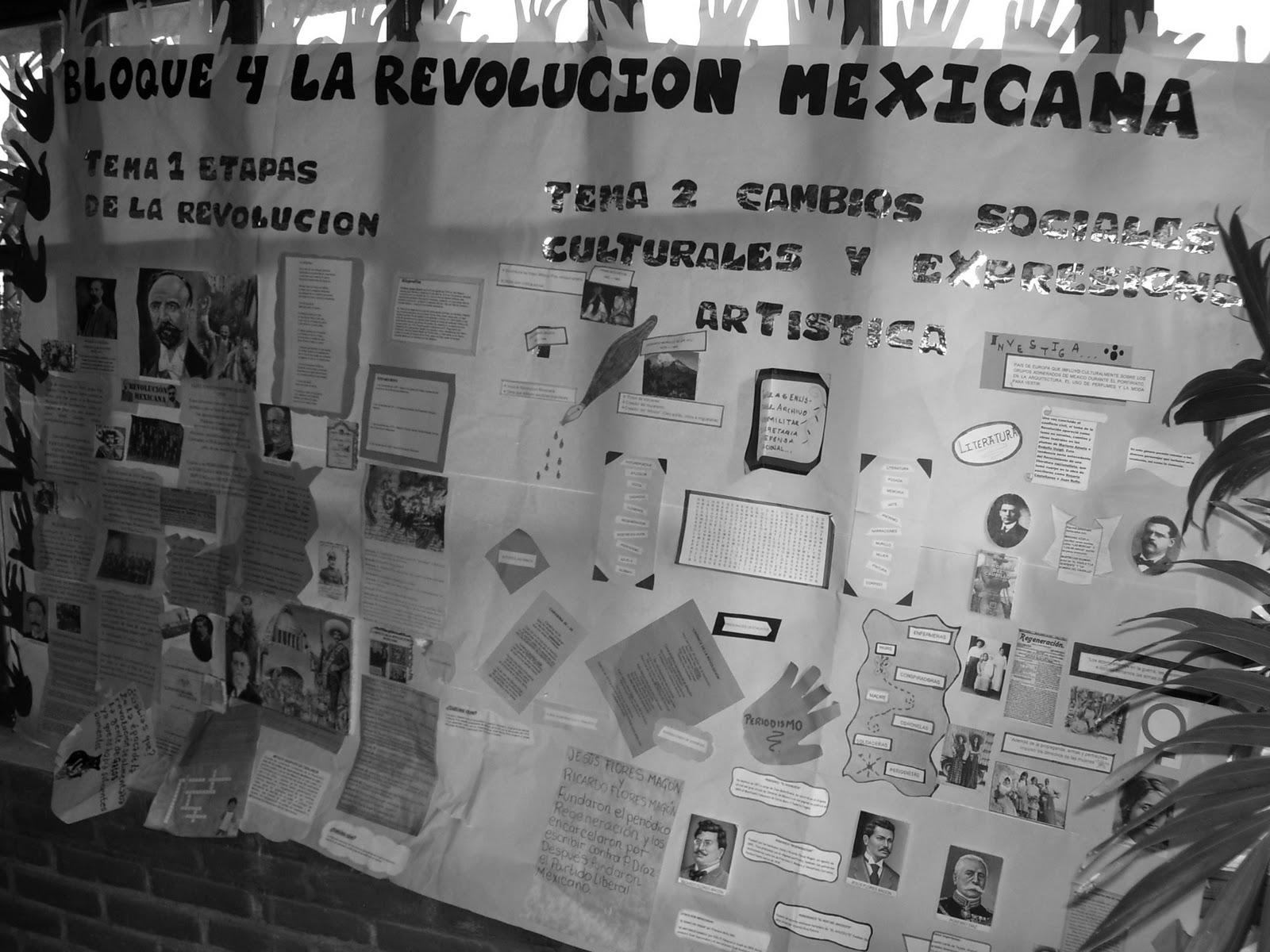 Historia de m xico ii fotogaleria periodico mural for Caracteristicas del periodico mural