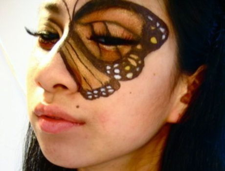 Easy And Simple Butterfly Makeup Tutorial Videos - Fashions Addres