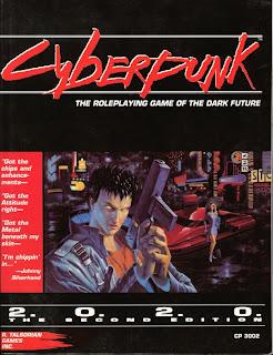 Portada de Cyberpunk 2020