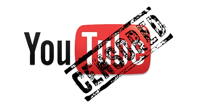 censura youtube video