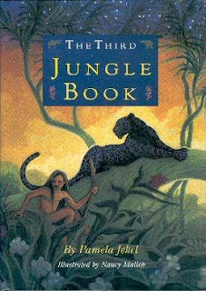 Book Cover Art for The Third Jungle Book by Pamela Jekel
