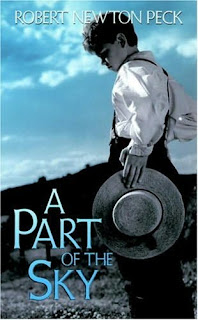 Book Cover of A Part of the Sky by Robert Newton Peck